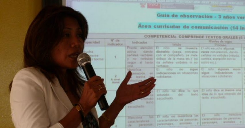 Directoras de inicial del Callao, mejoran guía de observación
