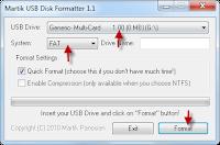 Martik -USB- Disk -Formatter- software