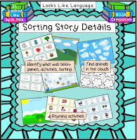 Book Companion: Sorting Story Details by Looks Like Language
