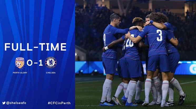 Hasil Perth Glory vs Chelsea Skor Akhir 0-1 [Friendly Match]
