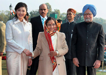 Who was the Chief Guest on 63rd Republic Day