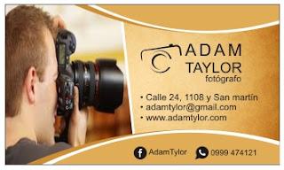 Tarjetas de presentación para fotógrafo