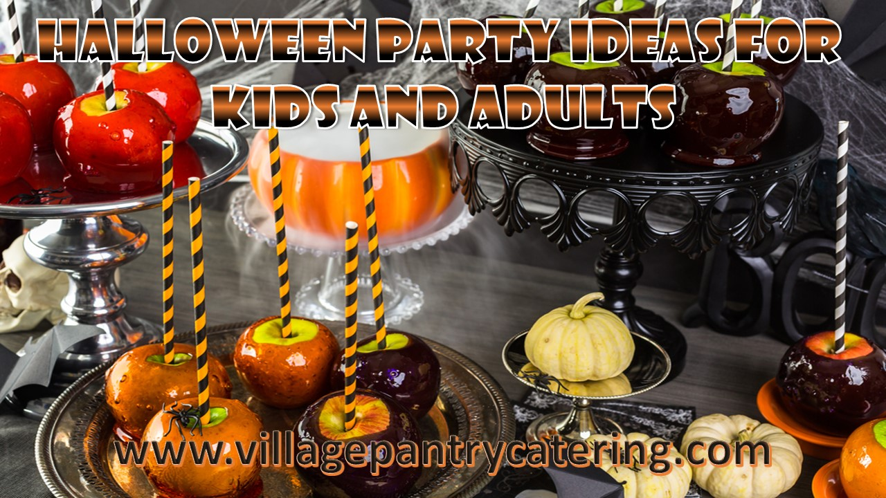 Wedding Theme: Halloween Party | Village Pantry Catering