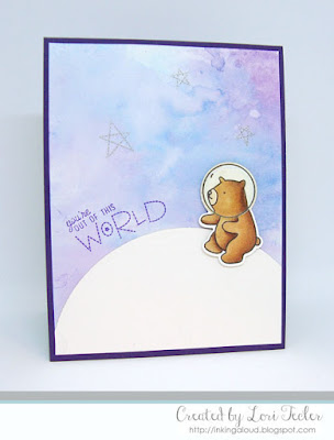 You're Out of this World card-designed by Lori Tecler/Inking Aloud-stamps from Mama Elephant