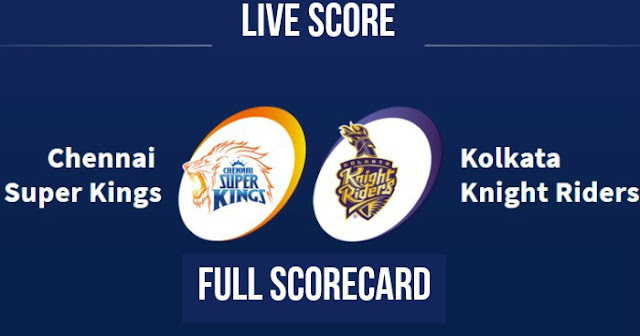 IPL 2018 Match 5 CSK vs KKR Live Score Update, Full Scorecard