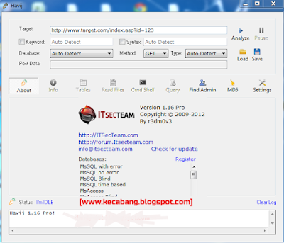 Download Havij Pro Full Cracked Gratis Deface web