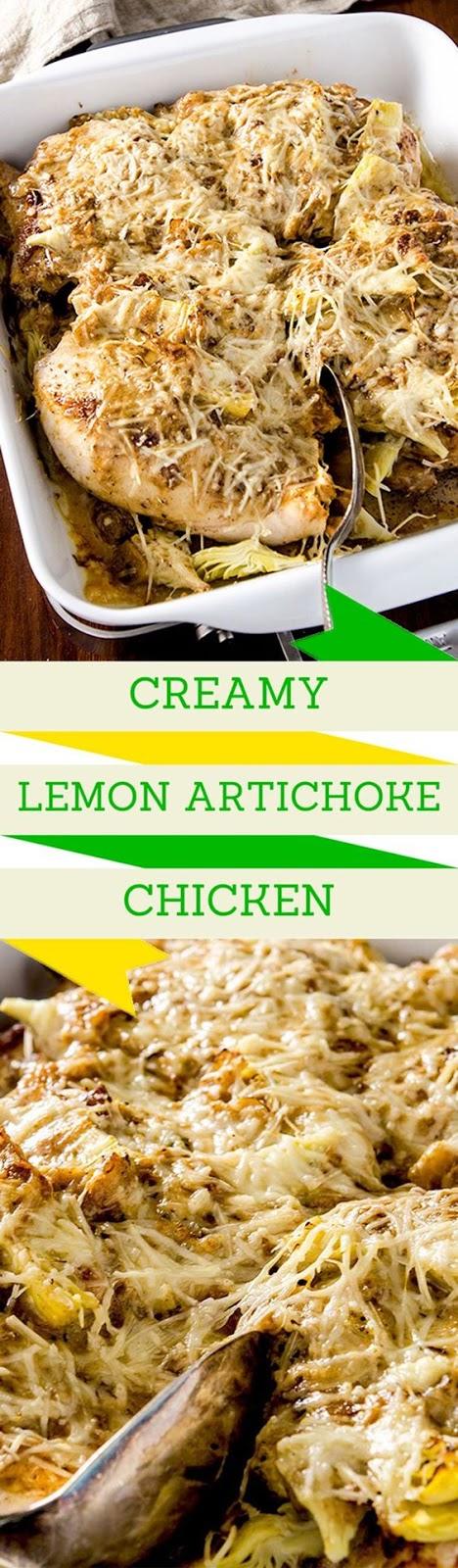 Lemon Artichoke Chicken
