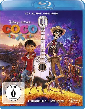Coco (2017) Dual Audio Hindi ORG 720p BluRay x264 850MB ESubs