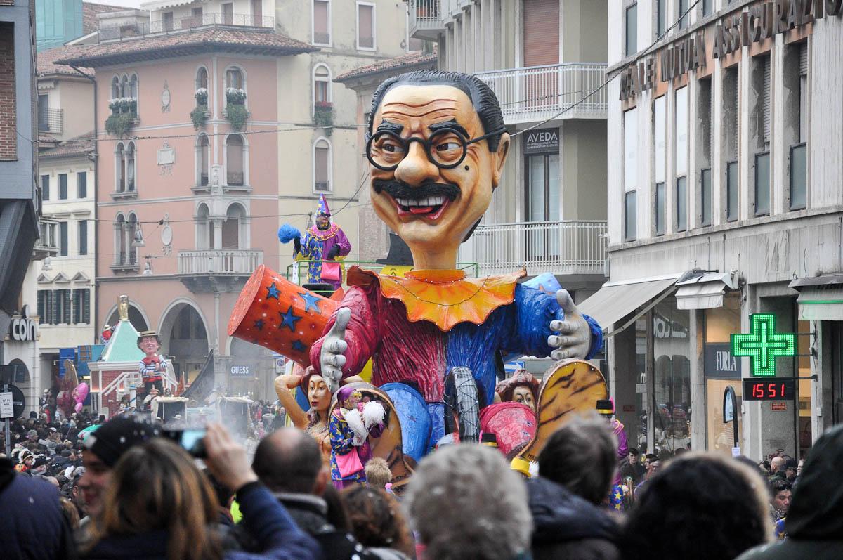 Float Parade, Treviso Carnival 2016, Treviso, Veneto, Italy