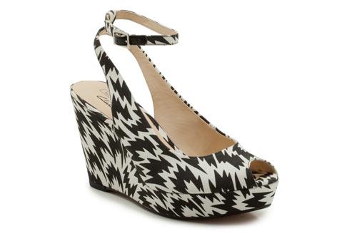 Diseño de zapatillas  con patrones