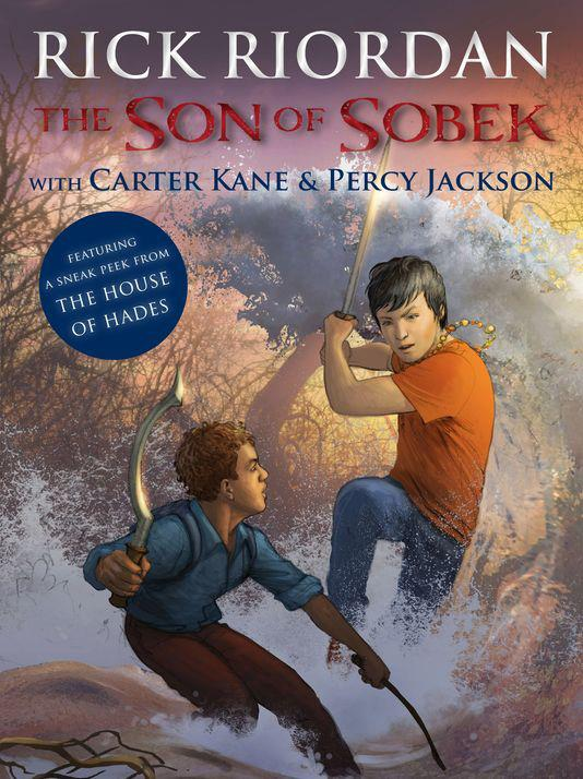 Cover of The Son of Sobek by Rick Riordan