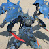 HGUC 1/144 Kshatriya & Gouf Custom Mix Build