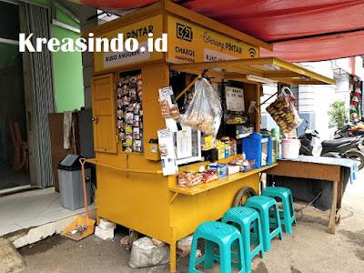 Jasa Pembuatan Warung Rokok atau Booth Besi di Jabodetabek
