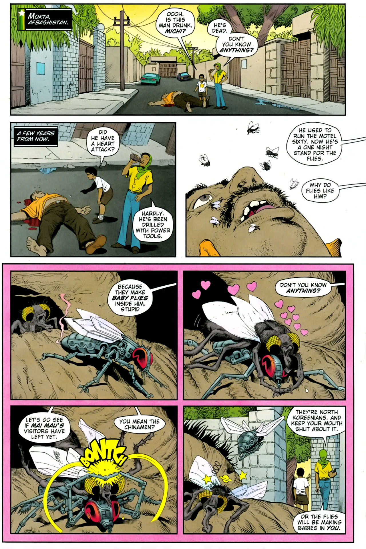 Read online Army @ Love comic -  Issue #8 - 2
