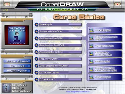 CURSO INTERATIVO DE CORELDRAW 10 (EDITORA EUROPA)