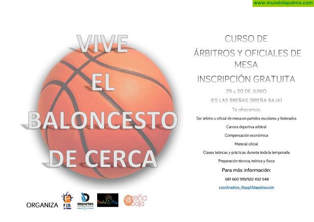 BREÑA BAJA: Curso de Árbitros de Baloncesto