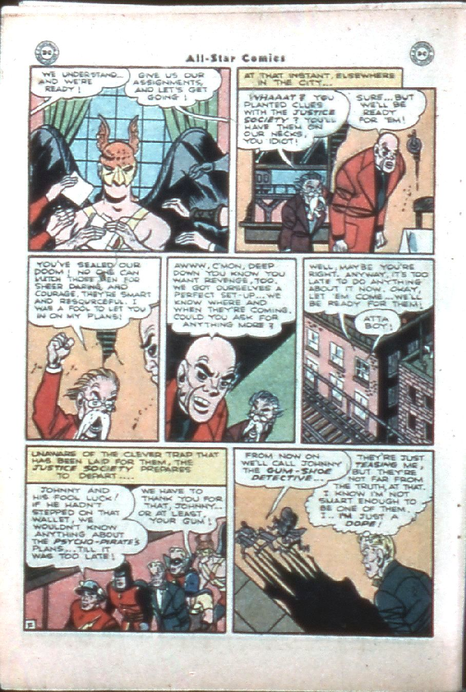 Read online All-Star Comics comic -  Issue #32 - 8