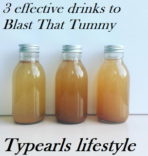 3 Natural drinks that blasts tummy in 30 days