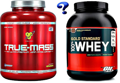 Mass gainer vs whey protein true mass gold standard whey