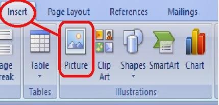 gambar insert picture