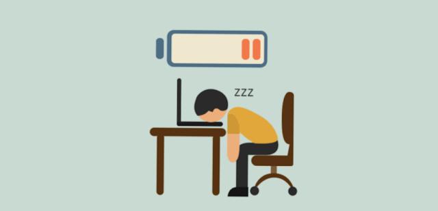 perasaan lelah di kantor
