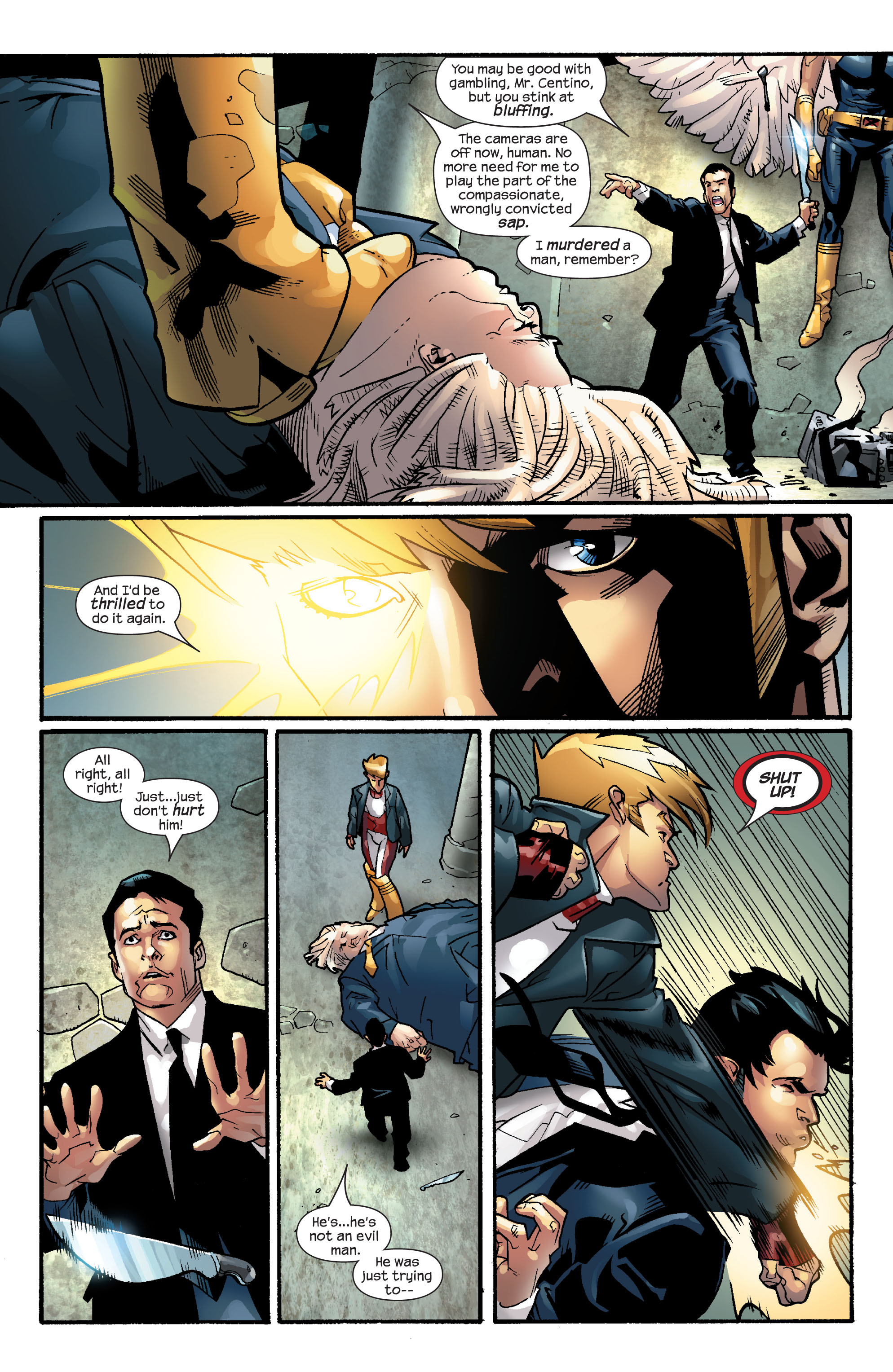 Read online Ultimate X-Men comic -  Issue #57 - 15