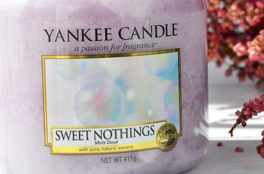 Yankee Candle - Sweet Nothings