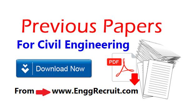 Civil Engineering Exam Papers