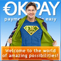 Sign up for OKPAY and start accepting payments instantly.