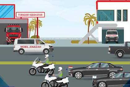Kendaraan yang Memiliki Hak Utama Memakai Jalan