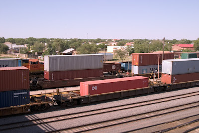 BNSF yard clovis new mexico