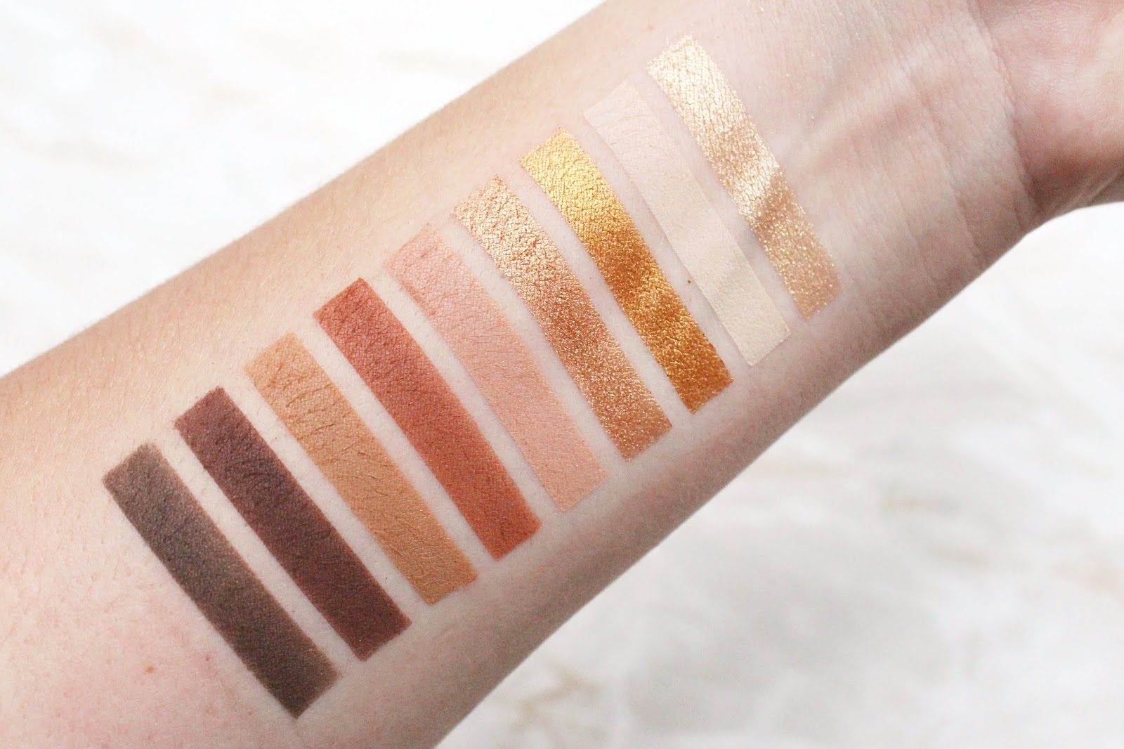 Profusion Mixed Metals Nude Palette Review
