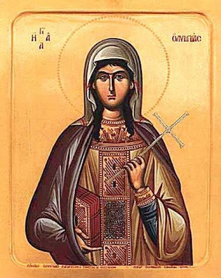 ST. OLYMPIAS of Constantinople