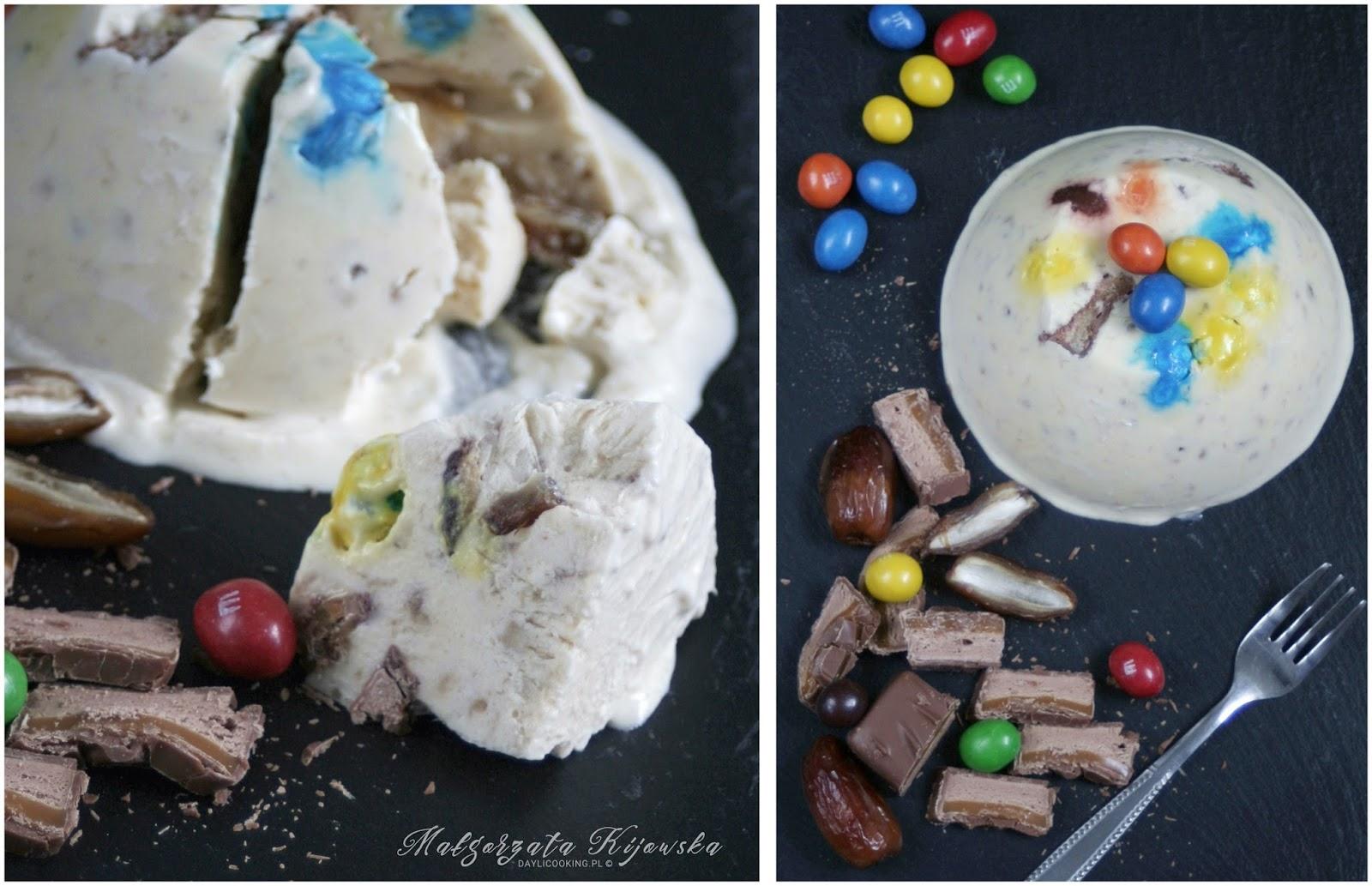 domowe lody, deser lodowy, daylicooking, Małgorzata Kijowska