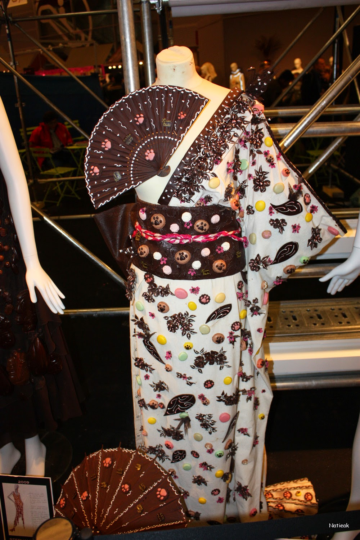robe chocolat  20 ans du Salon du chocolat