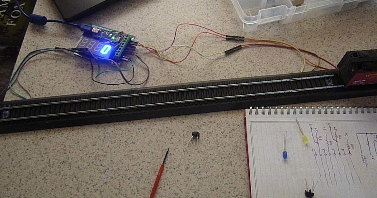 Arduino your home environment model railroad