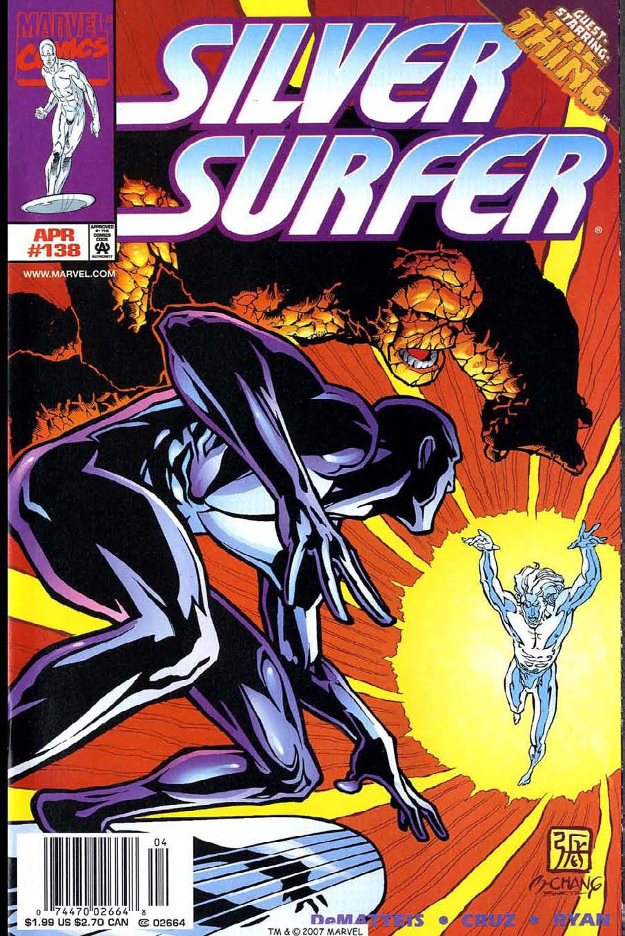 Read online Silver Surfer (1987) comic -  Issue #138 - 1