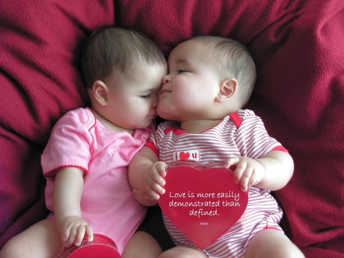 baby couple kissing high resolution hd wallpapers free ...