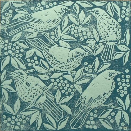 Invierno Señora | Pájaros de paso