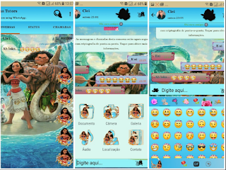 Free Download Fouad WhatsApp Mod Apk MOANA Terbaru 2018