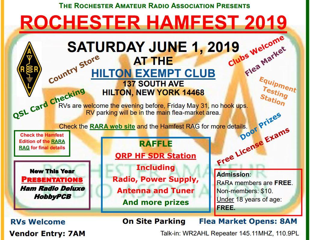 Upstate NY HAM Radio News & Information: Rochester Hamfest