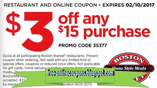 Market printable coupons