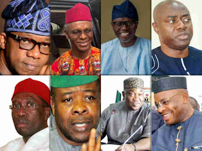 Full List Of Newly Elected Governors and Their Parties