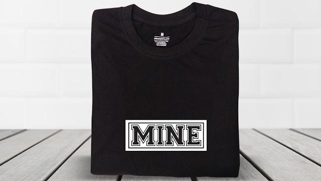 STX03-P5BW-CTS Text T Shirt Design, Custom T Shirt Printing