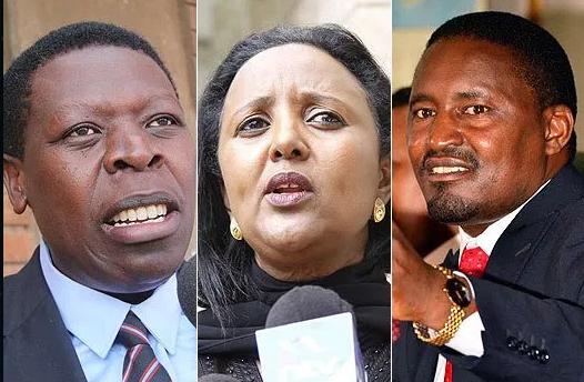 Full List of Cabinet Secretaries (CS) in Kenya 2018