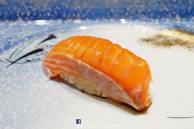 元朗 仁樂坊 鮨文 Omakase 13貫 壽司 平政魚 三文魚腩 三文魚