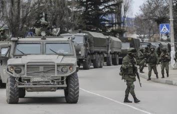 Ejército ruso en Crimea