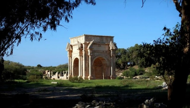Famed Libyan ruins rely on locals for support