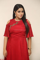 Poorna in Maroon Dress at Rakshasi movie Press meet Cute Pics ~  Exclusive 159.JPG