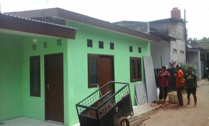 TMMD Rubah Fungsi Bangunan Tempat Nongkrong Jadi Posyandu